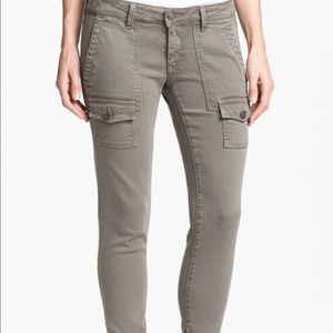 Joie So-Real Skinny Taupe Cargo Pants Sz 27